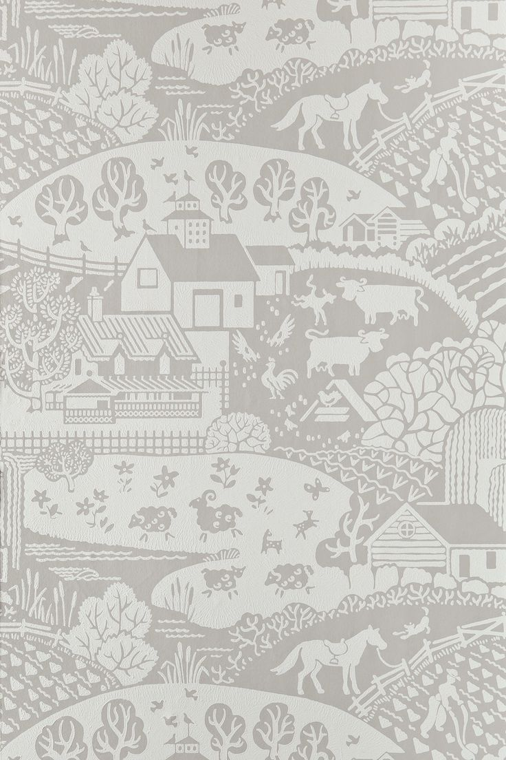 2016 New Wallpapers   Gable BP 5401   Farrow & Ball