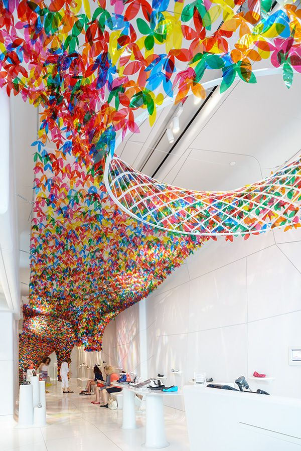 Huge art installation is a floral triumph