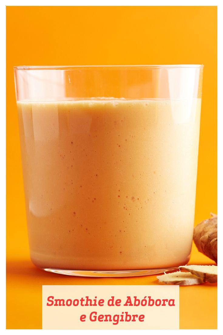 Este smoothie cheio de fibras consegue seu sabor graças a uma dose saudável de iogurte semidesnatado e um toque de vinagre de cidra (ou de maçã). É uma mudança bem-vinda em relação às sobremesas pesadas com abóboras que nos tentam.