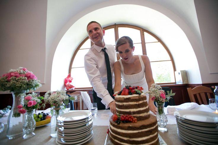 Radka & Lukáš 4.7.2015 | Wedding Naked Cake