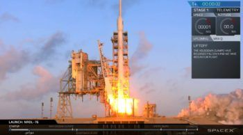SpaceX Falcon 9 launches first NRO mission with NROL-76   NASASpaceFlight.com