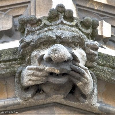 oxford gargoyles | No.1: Oxford Gargoyles and Grotesques