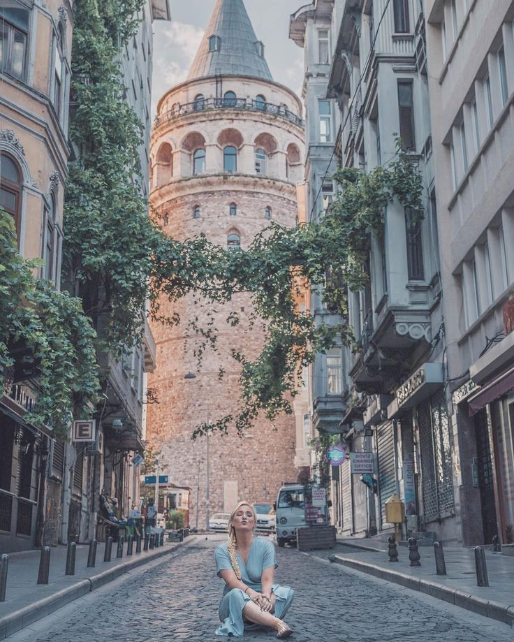 Galata #Tower #in #Istanbul, #Turkey