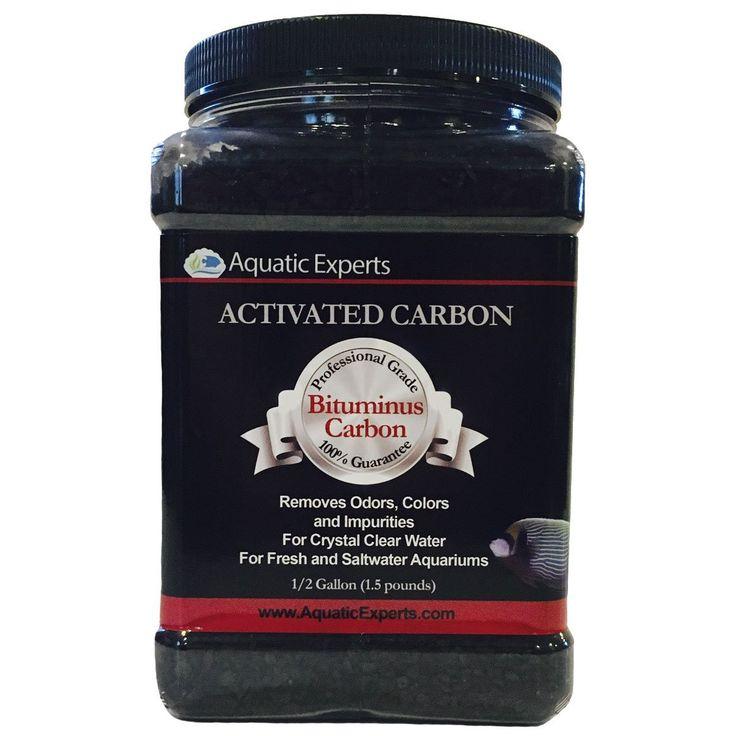 Classic Activated Aquarium Filter Carbon, Bituminous Coal For Freshwater, Saltwater, Reef, Pond, Public Aquariums - 32 ounce - by Aquatic Experts