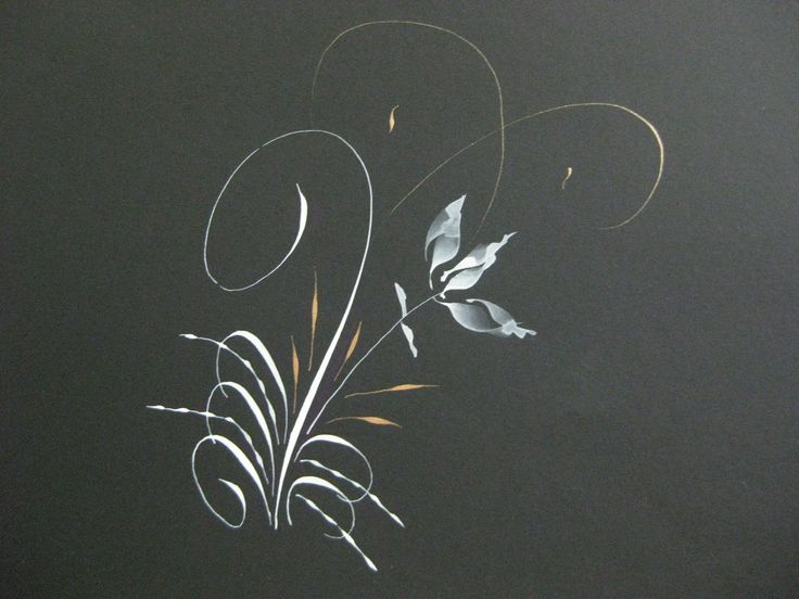 648 Best Images About Calligraphy Flourish On Pinterest