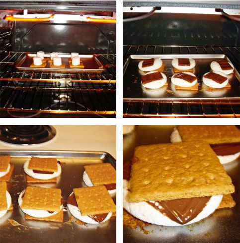 Indoor S'mores...Yummy. - Popsicle Blog