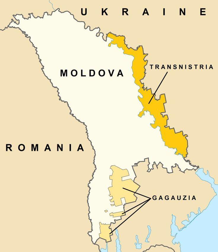 Transnistria and Gagauzia in Moldova