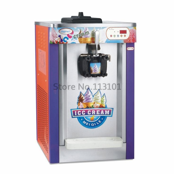 794.00$  Buy now - http://ali1vc.worldwells.pw/go.php?t=1951492050 - Commercial Ice Cream Maker Intelligent for Soft Ice Cream Making Machine Brand New Hot Sale Single Flavor 16~18L capacity