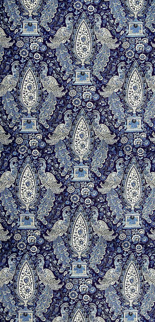 insidefabric.com - Indian Empress in indigo