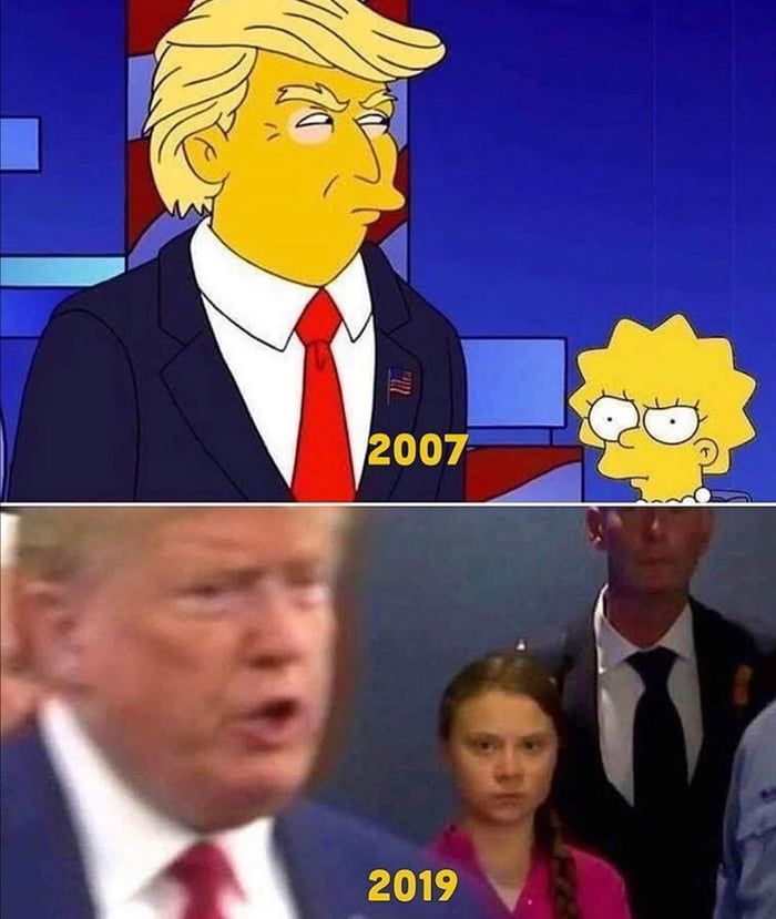 The Simpsons Predicted Everything Simpsons Funny Simpsons Meme The Simpsons