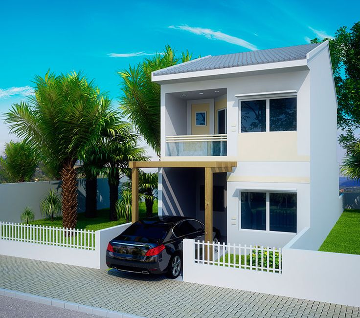 17 best ideas about fachadas para casas peque as on pinterest - Fotos casas modernas ...