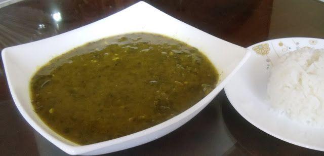 Cherie's Stolen Recipes: soppu saar -greens curry