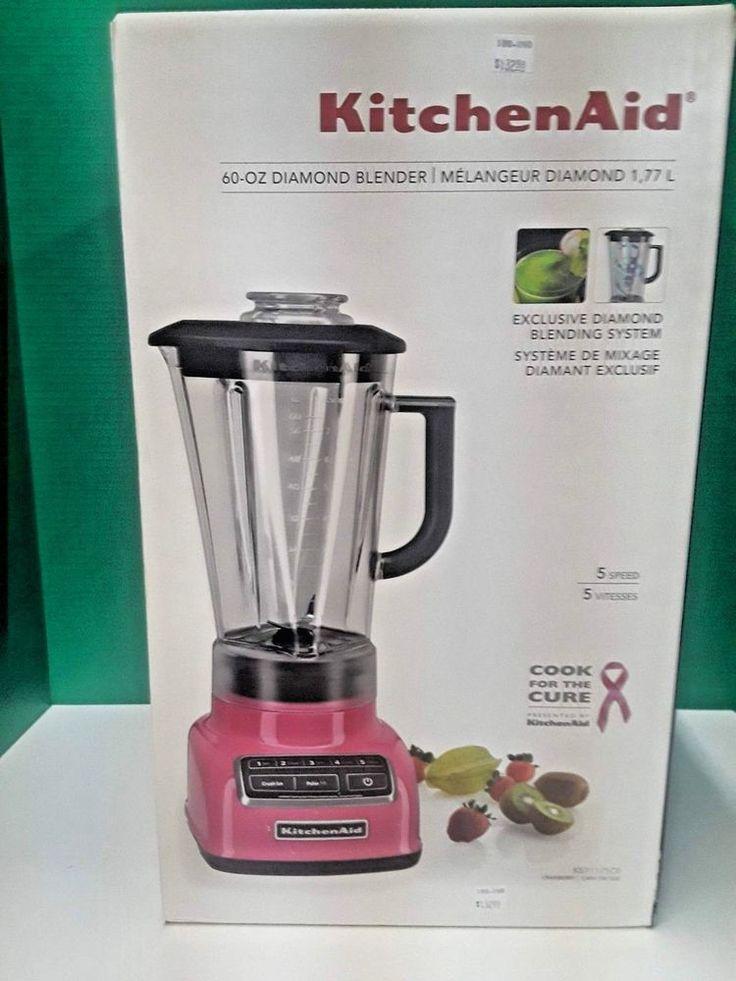 Kitchenaid ksb1575 cranberry 5speeds blender kitchenaid