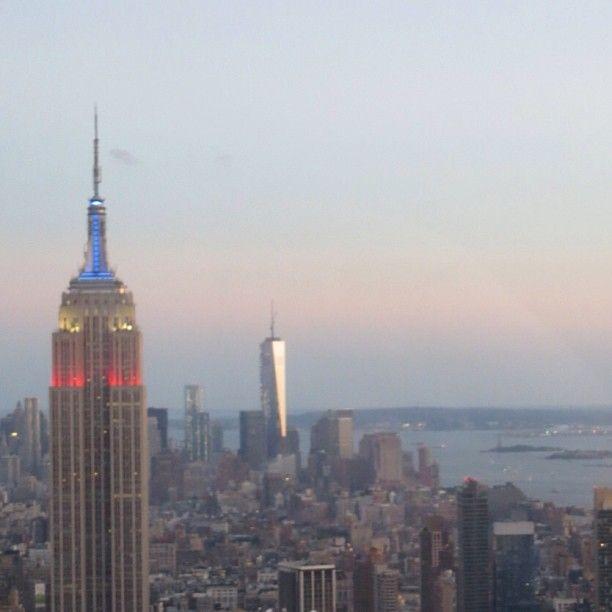 Empire State Building, One World Trade Center & NY Harbor - @Jeffrey Kalmikoff Kalmikoff P