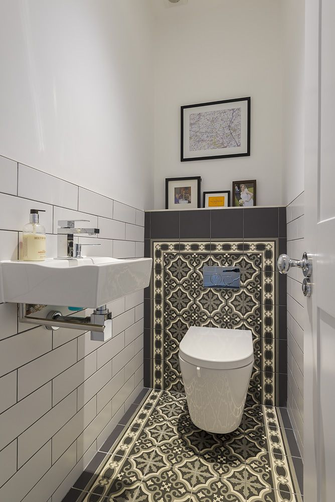 Guest Loo idea: But probably too fussy here?