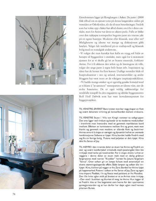 Villa Von Krogh | REPORTASJEN I VAKRE HJEM - Villa Von Krogh
