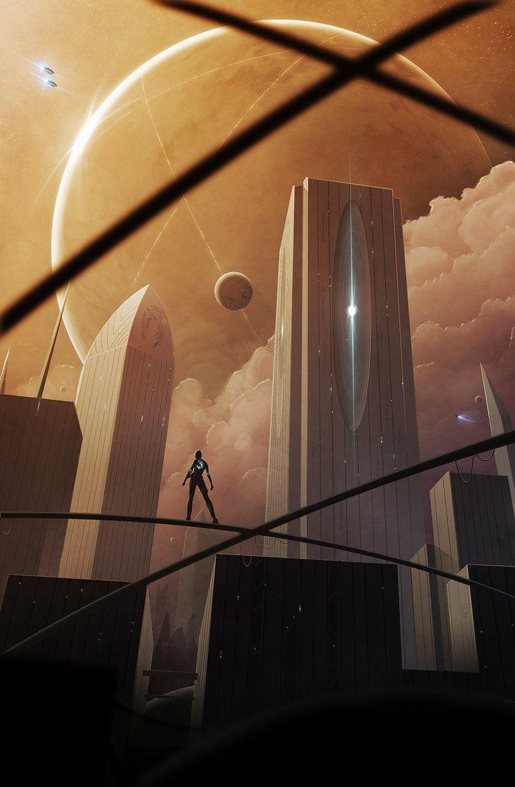 Skyline by Aeon-Lux.deviantart.com on @DeviantArt