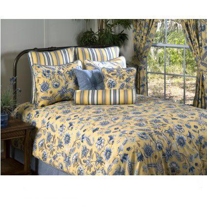 Cherborg Yellow Amp Blue Bedding Beddingnmore Traditional