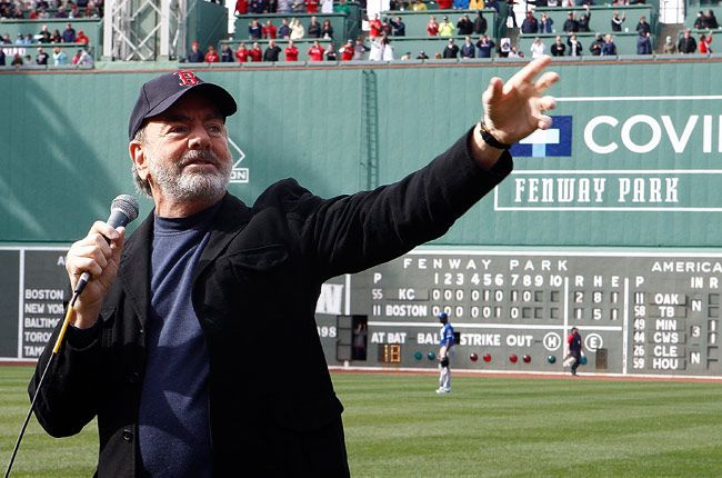 Neil Diamond Pledges 'Sweet Caroline' Royalties to Boston | Billboard