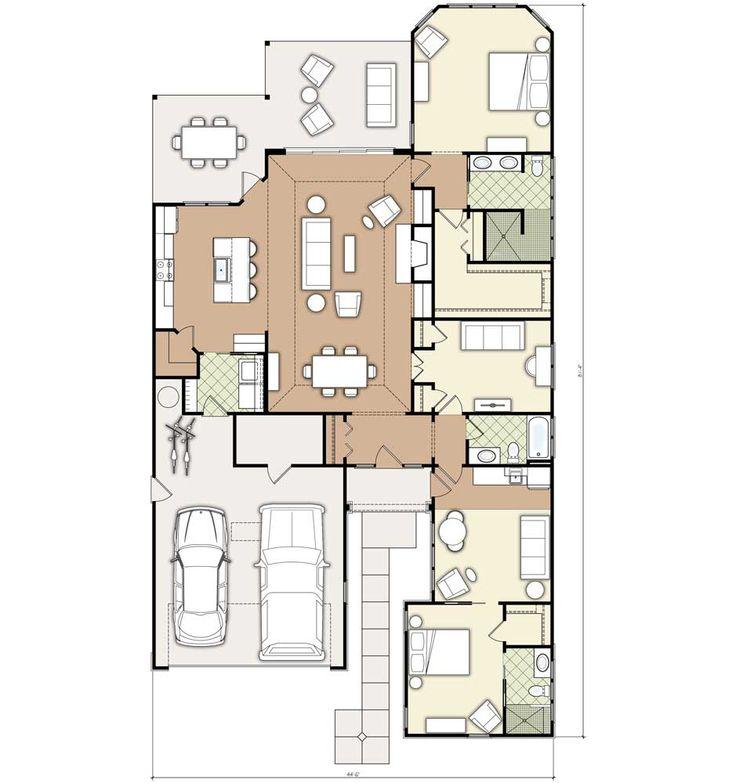 No Front Porch But I Really Like Everything Else Hagood Homes Grand Bahama Floorplan