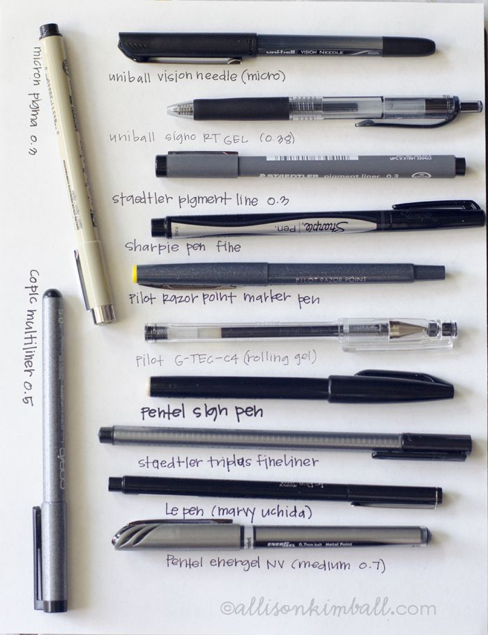 pen review... is it sad that I find this extremely important?!