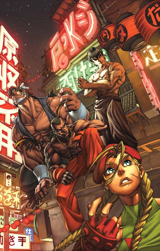 Street Fighter cover by diablo2003.deviantart.com on @deviantART