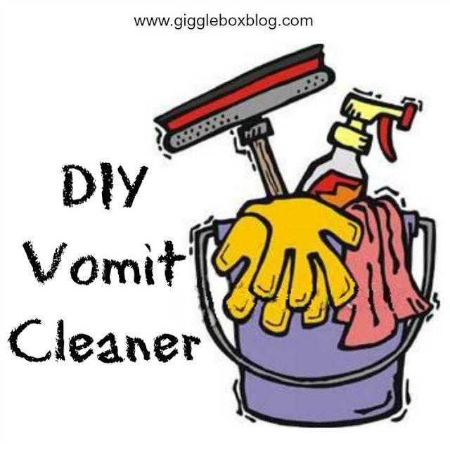 DIY Vomit Cleaner - Gigglebox Tells it Like it is - www.giggleboxblog.com