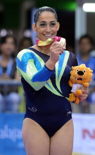 Daniele Hypolito, Medalha  Olímpica pra coroar sua brilhante carreira.