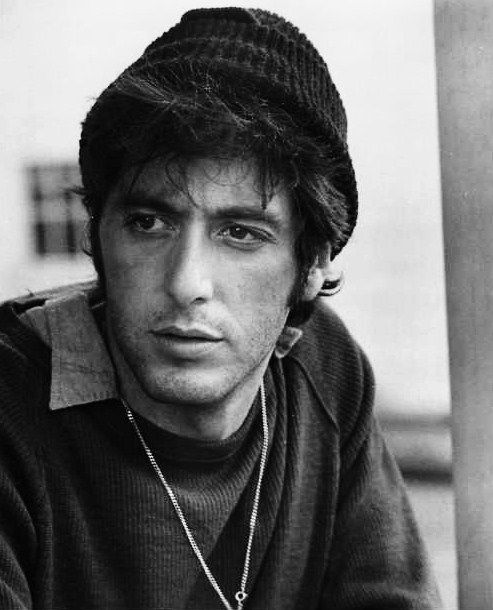 Al Pacino  he admitted about  early young life being a guy who used to be together with old well off women