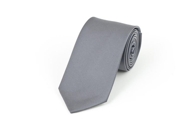 Charcoal Self Stripe Necktie