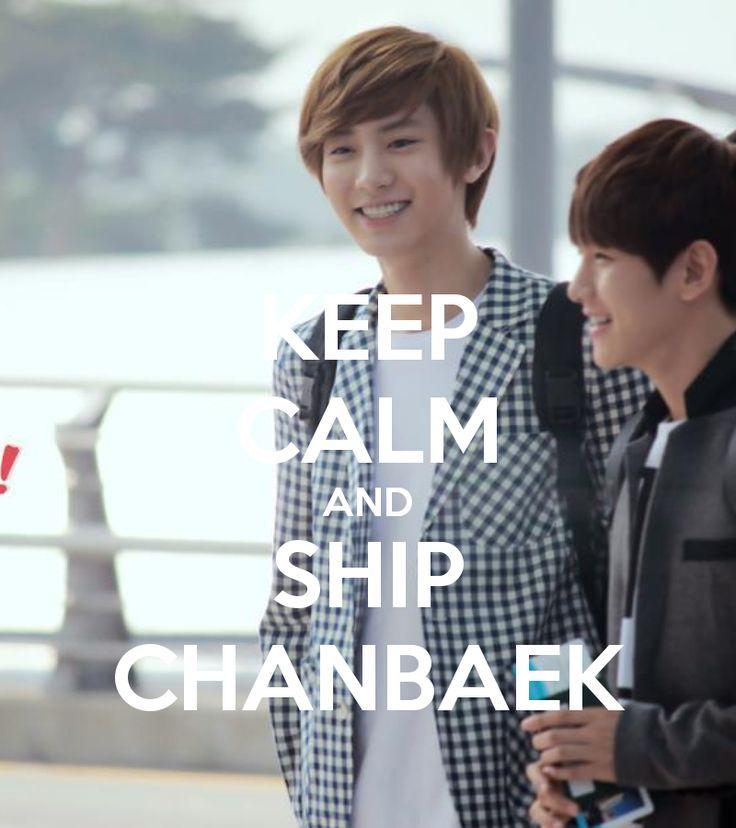 Keep Calm and Ship ChanBaek '^'