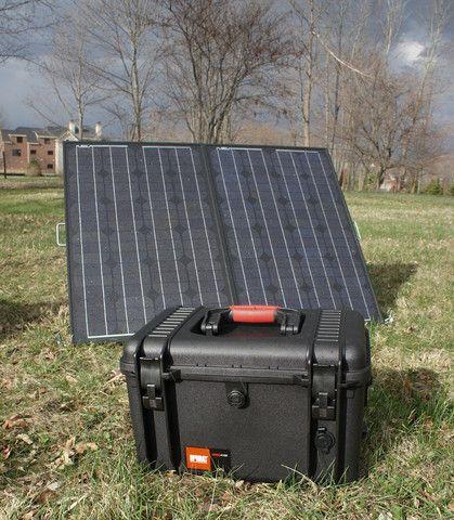 Waterproof Portable Solar Power Generator System (A must)