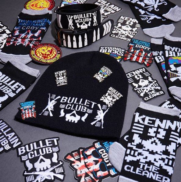 Never enough Bullet Club // Bullet Club Beanies, Patches, Pins & More.