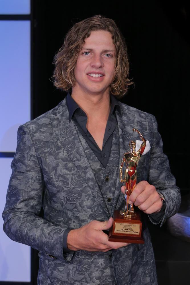 Nat Fyfe - Fremantle midfielder crowned The West Australian-RAC WA Sports Star of the Year.