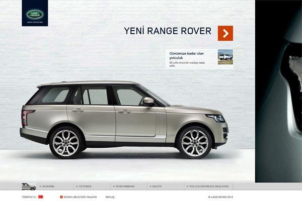 Land Rover Türkiye Mikro Site