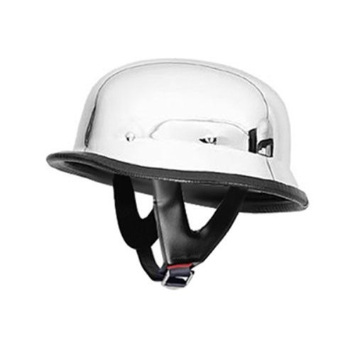 German Helmets – DOT German Motorcycle Helmet Chrome 115 Motorcycle Helmets