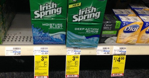 Irish Spring Soap at CVS for $1.49! - http://www.momscouponbinder.com/irish-spring-soap-cvs-1-49/ #coupons #couponing #couponcommunity