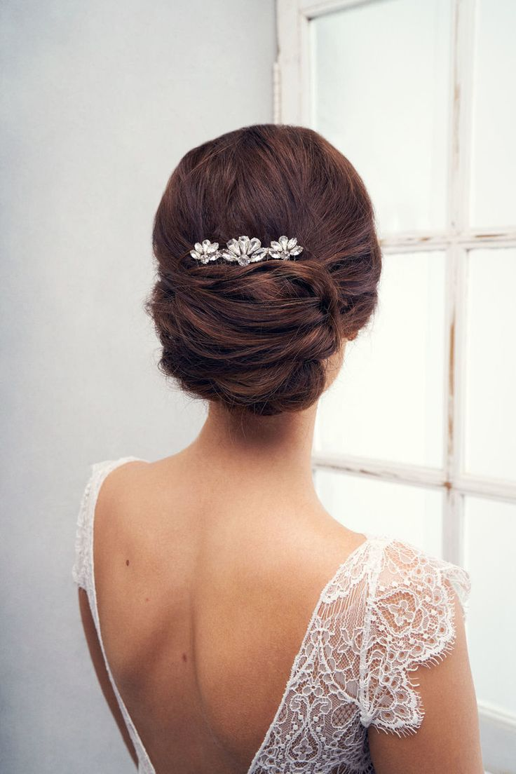 Hair accessories melbourne - Anna Campbell Bridal Accessories And Jewellery Vintage Inspired Small Sienna Hand Beaded Hair