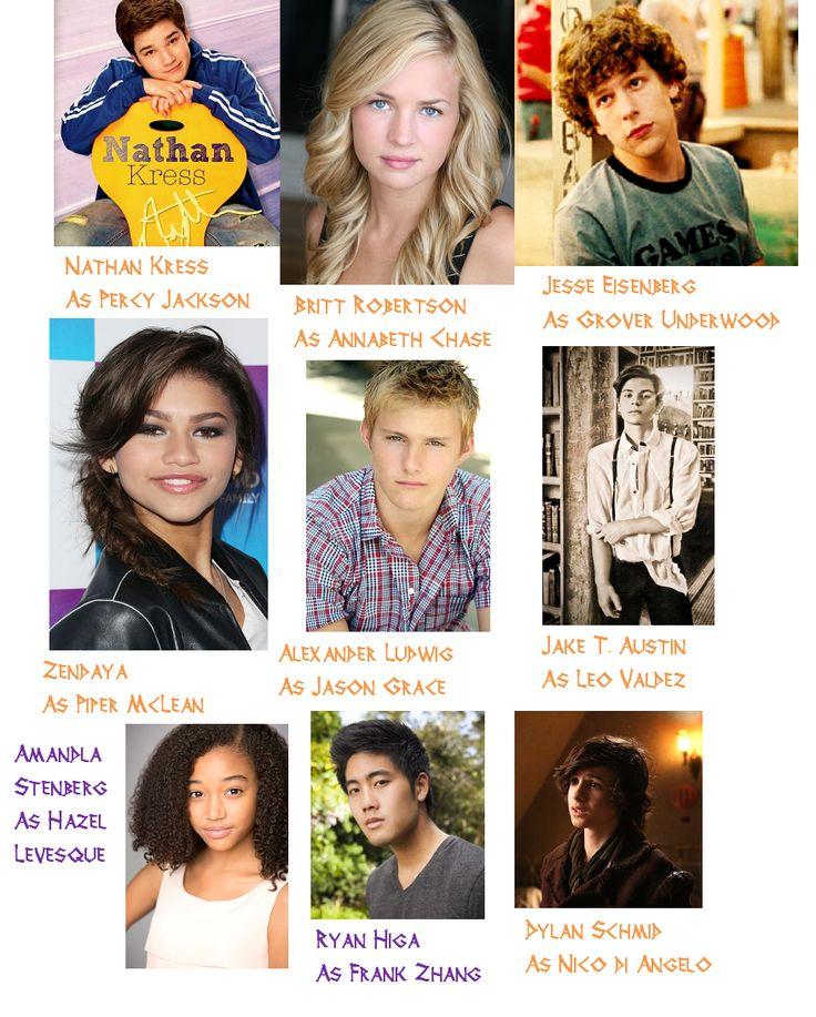 This is the first Percy Jackson/ Heroes of Olympus fan made cast list I actually agree with and love!!!