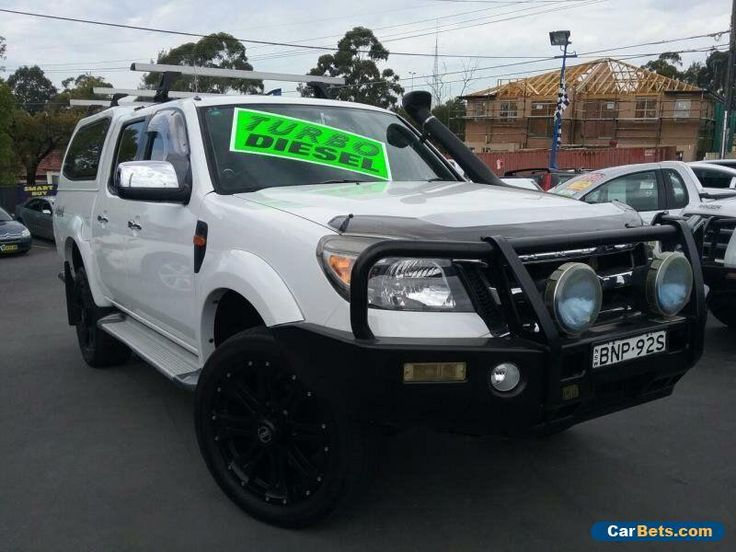 Kijiji Ford Ranger For Sale: 2010 Ford Ranger PK XLT (4x4) White Automatic 5sp A Dual