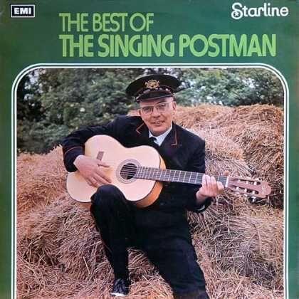 Portada 258: Worst Album, Lp Covers, Bad Album, Aw Album, Funny Album, Singing Postman, Album Coversyour, Album Art, Records Album