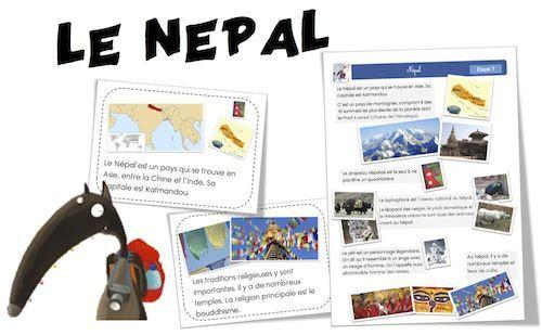 Voici l'étape que tout le monde attendait !!!! Youhouuuuu , elle est arrivée ! Le Nepal (Etape 7 du loup) en lien avec l'album : Le Loup qui voulait faire le tour du monde : ici Merci …