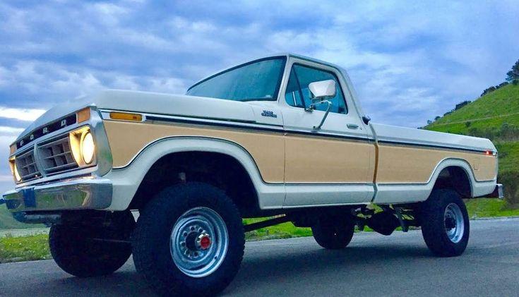14K Mile Highboy: 1977 Ford F250 - http://barnfinds.com/14k-mile-highboy-1977-ford-f250/