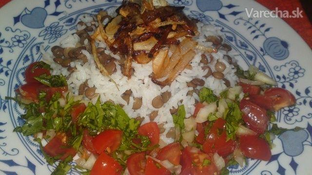 Mždara zo Sýrie - ryža so šošovicou (fotorecept)