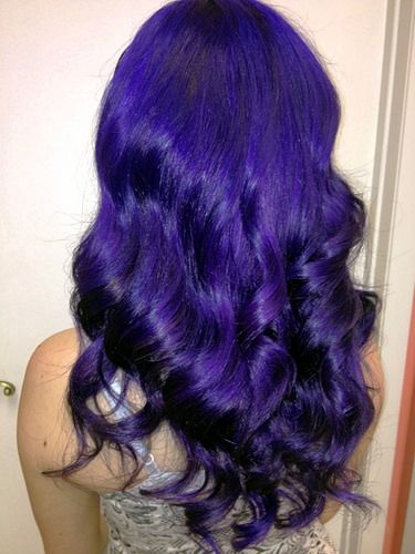Angie's purple | Flickr - Photo Sharing! I want purple hair!!