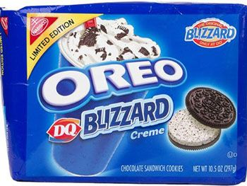 Oreo Flavored DQ Blizzard Oreos » The Worst Things For Sale