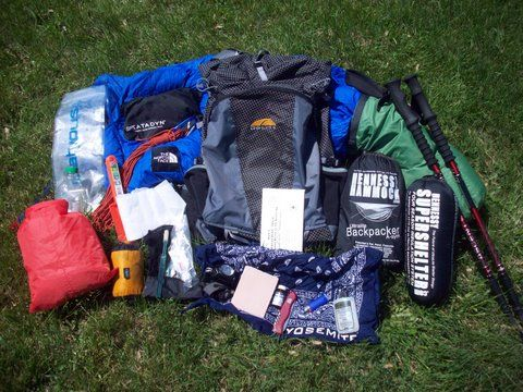 The answer is that you need everything you'd bring on a 1 day backpacking trip, except for a little more food, fuel, toilet paper, and what ever other extra consumables you need to stay out an additional 2 days..