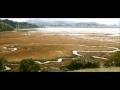 A maré alta em 2010 mostra como o nível do mar afetará o pântano China Camp na Baía de São Francisco. Apenas 12% das salinas na baía de São Francisco ainda existirá por volta de 2100, devido à subida do nível do mar, de acordo com um novo relatório do USGS.