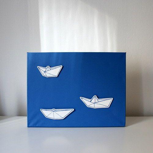 origami lodičky / origami boats