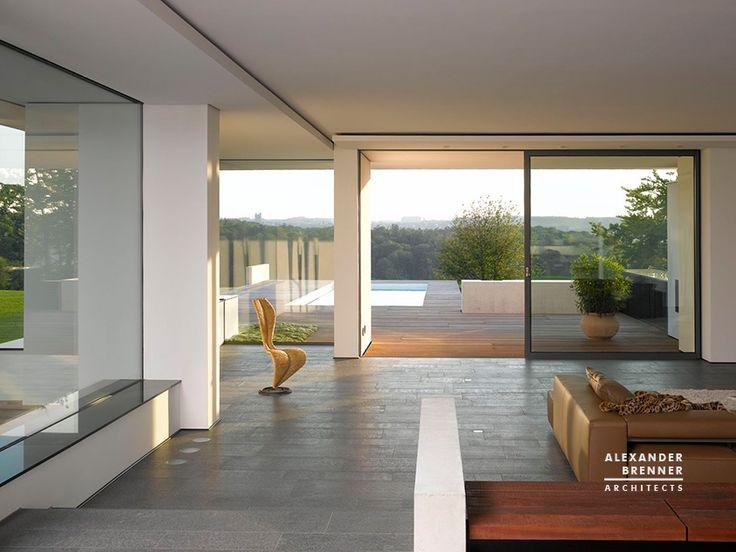 House am Oberen Berg, Stuttgart by Alexander Brenner Architects
